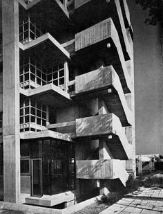 Instituto Marchiondi, Baggio, Milan, Italy, 1960