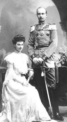 Princess Alexandra of Hanover and Prince Friedrich Franz of Mecklenburg-Schwerin