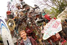 Cathedral of Junk - a MUST see in Austin, TX