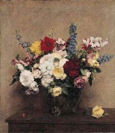 Henri Fantin-Latour - The Rosy Wealth of June