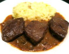 Goody Foody STEAK Vegan Food, Vegan Recipes, Steak, Goodies, Beef, Desserts, Sweet Like Candy, Meat, Tailgate Desserts
