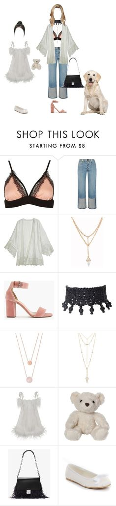 """""""back at it again with the baby stuffs"""" by xxeucliffexx ❤ liked on Polyvore featuring River Island, rag & bone, Calypso St. Barth, J.Crew, Yves Saint Laurent, Michael Kors, House of Harlow 1960, Agent Provocateur and damndaniel"""