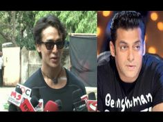 CHECKOUT what Tiger Shroff said about Dabangg Salman Khan.