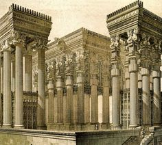 Alexander the Great burned this city - Persepolis Historical Incredible 9 Facts