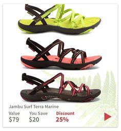 Jambu are all discounted today at planetshoes.com/jambu!