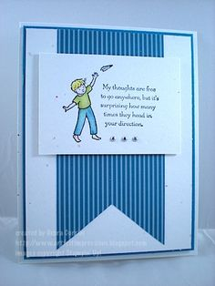 Lean on Me, Stampin UP handmade Card, Thinking of You