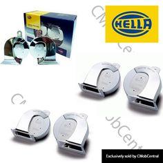 Hella Chrome Horn Car Horn, Horns, Chrome, Horn, Antlers