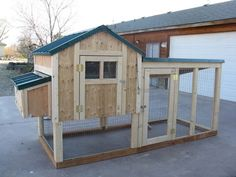 Chicken coop plan & material list, The 4 X 4 Kennel Coop