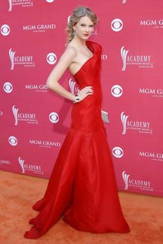 In Angel Sanchez at the 44th Annual Academy of Country Music Awards. See Taylor Swift's full fashion evolution, from sequins in 2007 to her many crop tops today.