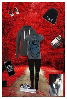 """""""Black walk"""" by oosammyoo on Polyvore featuring Mode, Superdry, Chaser, Vans und Casetify"""