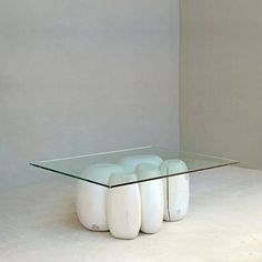 Buy our Modern Glass Top Low Table online. You love great design and we create beautiful products to inspire your vision. every time you work with us. Glass Side Tables, Wood End Tables, Glass Table, Contemporary Glass Coffee Tables, Modern Glass, Log Table, Wooden Cubes, Modern Console Tables, Studio