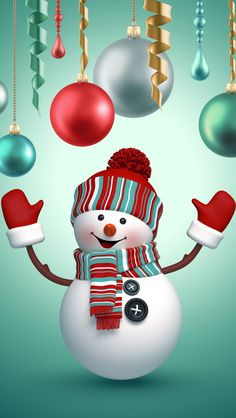 Best Of Christmas Snowman Wallpaper For Iphone wallpaper Snowman Wallpaper, Cute Christmas Wallpaper, Holiday Wallpaper, Winter Wallpaper, Christmas Background, Christmas Snowman, Christmas Crafts, Christmas Decorations, Christmas Ideas