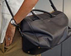 Gwyneth Paltrow carries Hedi Slimane's first bag for Yves Saint Laurent
