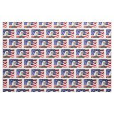 flag USA Patriotic stars stripes eagle honor
