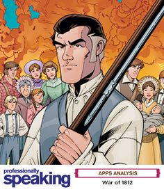 This #electronic page-turner gives middle- to high school students an up-close view of the #war between #Canada and the United States. It's a hightech #comic following the fictional Loxley family from Upper #Canada whose future was shaped by the battle. The Loxleys and the #WarOf1812, a Renegade Arts Entertainment's award-winning #graphicnovel, forms the basis of the plot. #edtech #technology #app #educational #education #history #teachinghistory #historylesson War Of 1812, Page Turner, Teaching History, Arts And Entertainment, High School Students, Canada, Anime, Ipod Touch, Battle