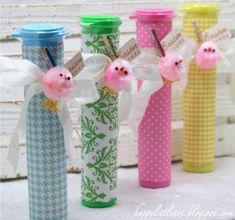 Candy Crafts, Cute Crafts, Diy And Crafts, Arts And Crafts, Paper Crafts, Birthday Wishes, Birthday Parties, Candy Dispenser, Cute Candy
