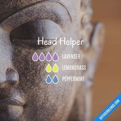 Head Helper - Essential Oil Diffuser Blend #EssentialOilBlends