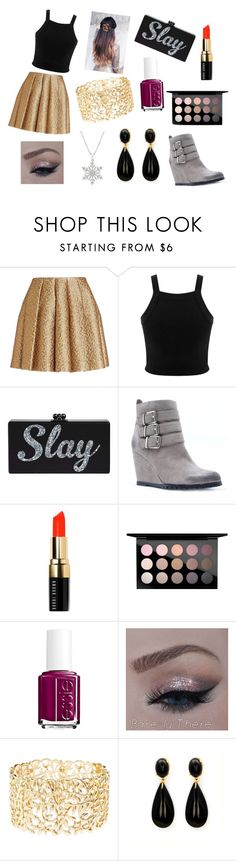 """#slay"" by rojoubdalia on Polyvore featuring Creatures Of The Wind, Miss Selfridge, Qupid, Bobbi Brown Cosmetics, MAC Cosmetics, Essie and Charlotte Russe"
