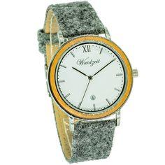 ALPIN Jar s lodénovým remienkom – waidzeit. Jar, Watches, Leather, Accessories, Fashion, Elegant, Moda, Wristwatches, Fashion Styles