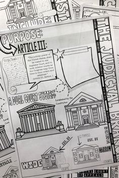 Make your Judicial Branch unit more exciting for your high school students with this doodle notes set from History Gal. Teacher Jokes, Best Teacher, School Teacher, Teaching Government, Judicial Branch, School Grades, Teaching Social Studies, Upper Elementary, High School Students