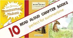 Summer is the perfect time to read aloud chapter books to your kids. Take one of these summer read alouds to the park, beach or your backyard and start a reading adventure. Book Club Food, Diy Old Books, Read Aloud Books, Children's Books, Reading Adventure, Summer Reading Lists, Kids Reading, Quotes For Book Lovers, First Grade Reading