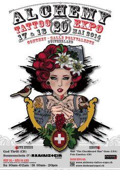 20th Alchemy Tattoo Expo | Tattoo Filter Alchemy Tattoo, Tattoo Expo, Go Usa, Man Go, Tattoos, Switzerland, Filter, Art, Sunshine