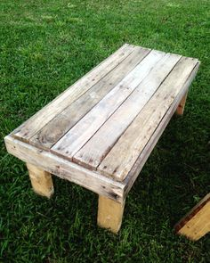 Finished This Small Table To Go With The First Adirondack Chair I Built.  Also Doubles