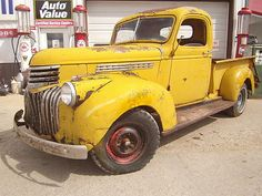 1941 Chevy pickup truck project...this would be perrrrfect!