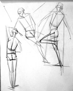 Drawing The Human Figure - Tips For Beginners - Drawing On Demand Human Drawing Reference, Human Anatomy Drawing, Anatomy Study, Anatomy Art, Anatomy Reference, Human Body Diagram, Figure Drawing Tutorial, Man Sketch, Body Sketches