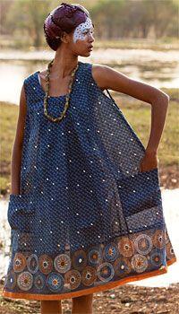 linen & cotton dress