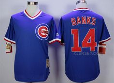 http://www.xjersey.com/cubs-14-ernie-banks-blue-throwback-jersey.html CUBS 14 ERNIE BANKS BLUE THROWBACK JERSEY Only $35.00 , Free Shipping!