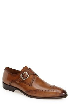 Mezlan  Vitoria  Monk Strap Oxford (Men) available at  Nordstrom Formal  Shoes 3eee4a3047d1