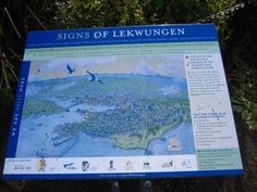 """""""Signs of Lekwungen"""" plaque for Esquimalt and Songhees First Nations"""