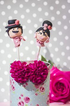 Cake pops Flamencos - Cake by Marilo Flores