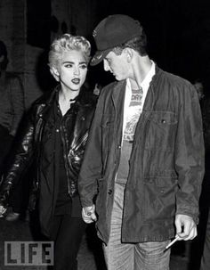 madonna and sean penn, '86
