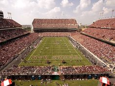 Texas A & M's Kyle Field in College Station, TX