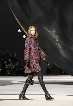 Défilé Chanel automne-hiver 2013/2014 par Karl Lagerfeld