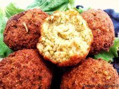Receta de falafel Dieta Fodmap, Tapas, Muffin, Veggies, Keto, Pasta, Healthy Recipes, Snacks, Cooking