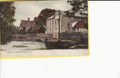 River Ivel and Mill, Biggleswade Colour PC 1905 W | eBay