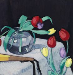 Samuel John Peploe | Still-Life with Tulips | Sold for £193,250