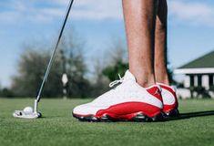 ゴルフシューズになったナイキ「Air Jordan 13」が限定発売