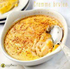 Εύκολη γευστική κρέμ μπρουλέ - Crème brûlée - gourmed.gr