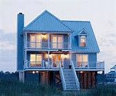 Beach House Designs with Pilings - Bing Images