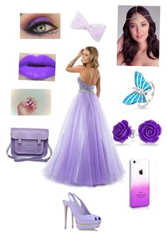 """""""Prom Outfit"""" by emmexoxoxo ❤ liked on Polyvore featuring Le Silla, Lipsy, Bebe and Bling Jewelry"""