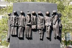 Women of WWII Memorial, London