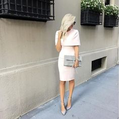 uptown babe @mckennableu keeping it chic in our @elliatt Elevate blush dress #lovelulus #lulusambassador