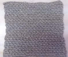 Moss Stitch Block Moss Stitch, Throw Rugs, Pillows, Pattern, Area Rugs, Patterns, Cushions, Pillow Forms, Model