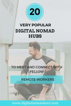 Chiang Mai, Bali and Berlin are not the only places in the world, where you can find remote workers. There are many other digital nomads hubs around the world, where you can meet like-minded people, find many coworking spaces and where you can live for little money. Check them out!