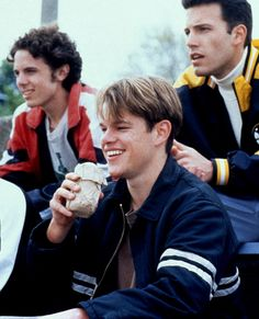 Casey Affleck, Matt Damon & Ben Affleck in Good Will Hunting