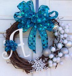 Winter Wonderland Wreath - Winter Wreath - Christmas Wreath
